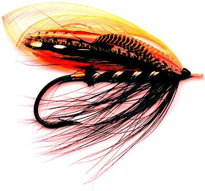 black dog salmon fly