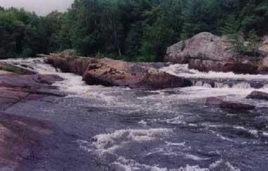 burnt river ontario rapids