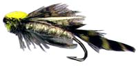 dark olive matuka fly pattern