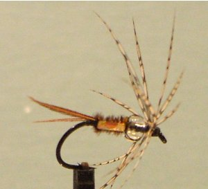 quinchat's glass eyed glimmer fly pattern