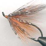 orange spey fly pattern