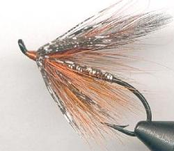 orange spey fly pattern